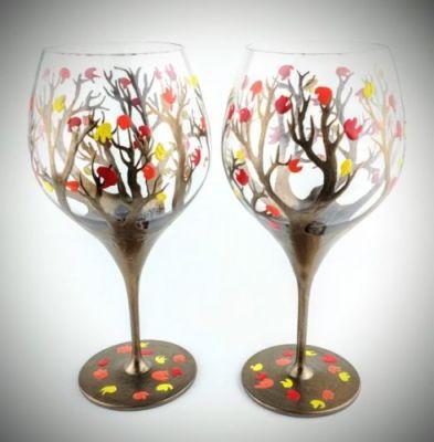 Čaše za dekoraciju